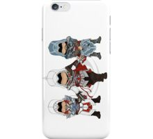 Ezio Auditore da Firenze Chibi Assassin Trio iPhone Case/Skin