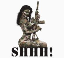 Shhh ! Special Forces Pinup, 7th SFG by MilitaryPinups
