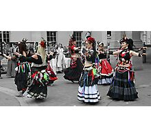 They twirl and twirl. Photographic Print