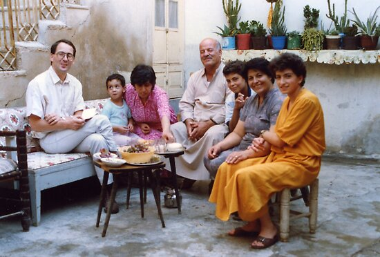 Syrian 1990 Arab Family by Pilgrim