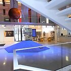 Inside the water pavillion, Paris by Carol Dumousseau