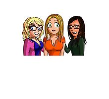The Big Bang Theory - Amy Penny Bernadette Photographic Print