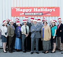 Happy Holidays from Dunder Mifflin! by talkpiece
