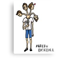 Modern Baseball // Stages of Love Metal Print