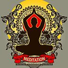 Meditation brings wisdom by ramanandr