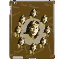 John Denver [Brown] #2 iPad Case/Skin