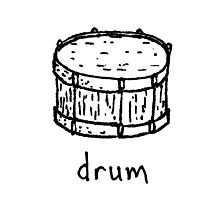 Drum by Isaac Collmer
