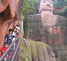 Leshan big Buddha by Rhona