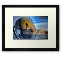 JET ENGINE Framed Print