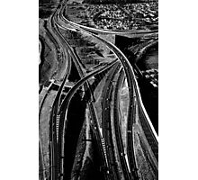 My Way or the Highway Photographic Print