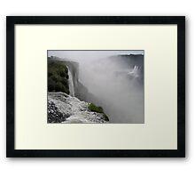 Mighty Iguazu Falls Framed Print