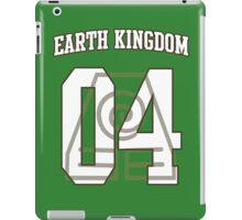 Earth Kingdom Jersey #04 iPad Case/Skin
