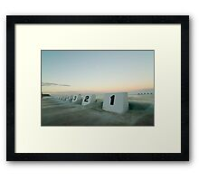 mereweather baths 4 Framed Print