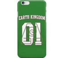 Earth Kingdom Jersey #01 iPhone Case/Skin