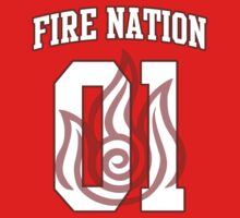 Fire Nation Jersey #01 by iamthevale