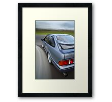 Ford Sierra RS Cosworth rig shot Framed Print