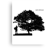 Jack Johnson Canvas Print