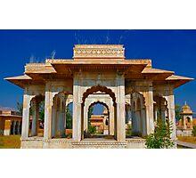 Maharani Ki Chhatri, Jaipur Photographic Print