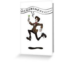 Geronimo! Greeting Card