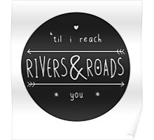 Rivers & Roads Poster