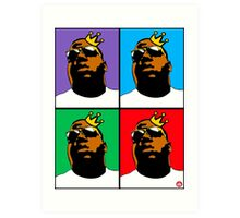HIP-HOP ICONS: NOTORIOUS B.I.G. (4-COLOR) Art Print