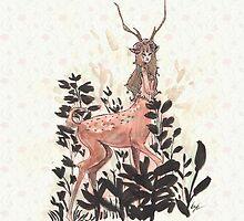 Deergirl by katiagrifols