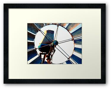 Outback Windmill by Stephen Kilburn