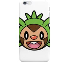Chespin Face iPhone Case/Skin