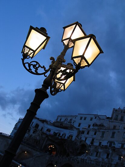 Amalfi Lights by David Sundstrom