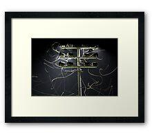 Moth Trails Framed Print