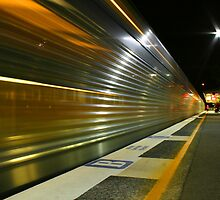 Night Train 3 by Mark Snelson