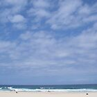 Summer at Maroubra Beach, Sydney Australia by Cre8iveAngel