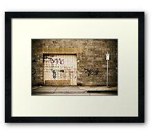2P Framed Print
