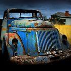Diesel blue by Matt Mawson