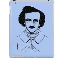 Portrait of American Author and Poet Edgar Allan Poe iPad Case/Skin