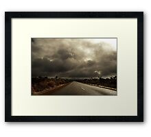 The Shining Path Framed Print
