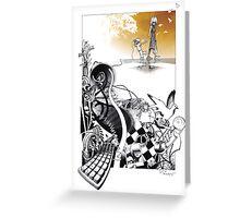 limbic tides Greeting Card