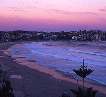 Bondi Sunset by Shutterbug
