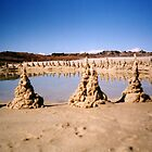 Dribble Sand Castles by mantahay