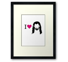 I love Thorin Framed Print