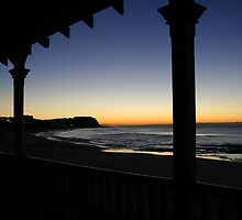 Merewether Beach at Dawn by Mark Snelson