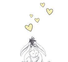 Walt Disney's Eeyore by ChloeJade