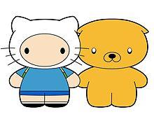 Finn & Jake by MonHood
