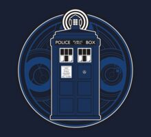 TARDIS and Timelord Seal - Doctor Who by createdezign