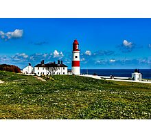 Souter Lighthouse Photographic Print