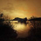 AS THE SUN SETS ON LOCH LOMOND by leonie7