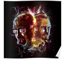 Chemisty2 - Walter White and Jesse Pinkman Poster