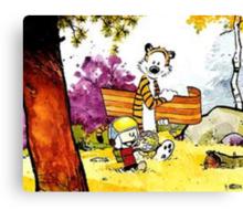Calvin 'n' Hobbes Canvas Print