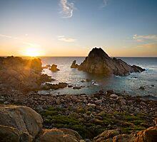 Sugarloaf Rock, Yallingup by Scott G Trenorden