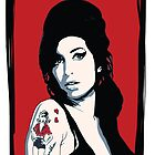 Amy Winehouse by Rich Anderson